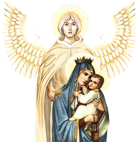 [MaryVitamin] Our Lady, St. Michael and St. Francis