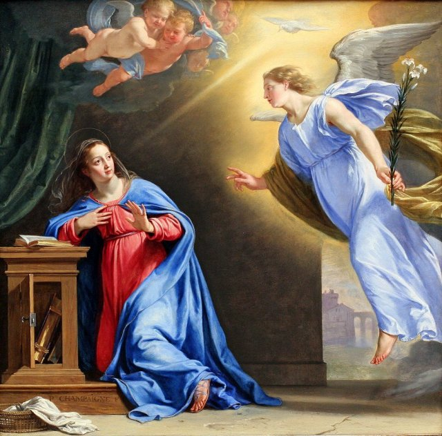 Image result for our lady annunciation