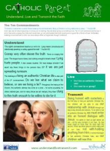 Ten Commandments - 8