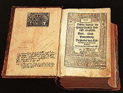 Luther's translation of the Bible, from 1534 (Wikipedia.com)