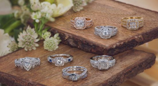 Zales rings