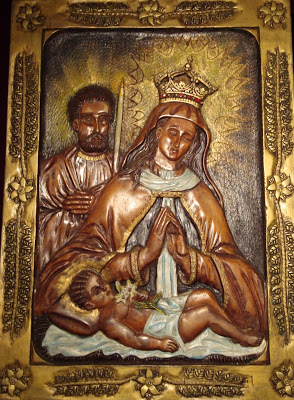 Our Lady Queen of Martyrs Image from http://catholicmanhattan.blogspot.com/