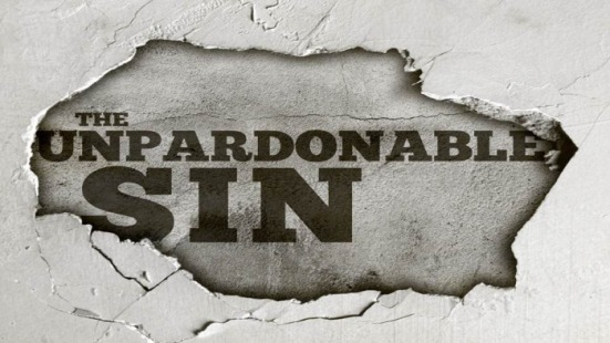 the-unpardonable-sin