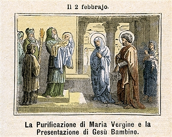 Purification of the Blessed Virgin Mary & the Presentation of the Child Jesus