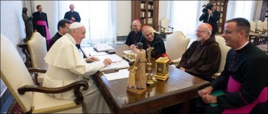 US BISHOPS MEETING POPE